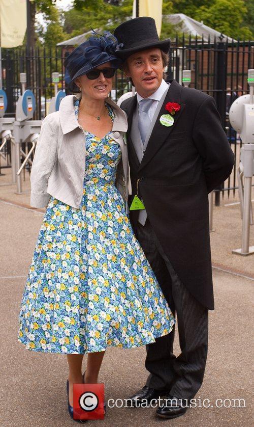 Richard Hammond and wife Mindy Hammond Royal Ascot...