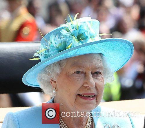 Queen Elizabeth II  Royal Ascot at Ascot...