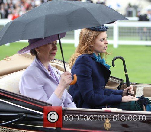 Princess Anne and Princess Beatrice 3