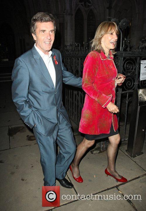 John Stapleton and Lynn Faulds Wood,  at...