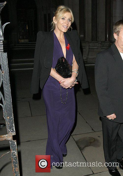 Michelle Collins,  at the Terrence Higgins Trust...