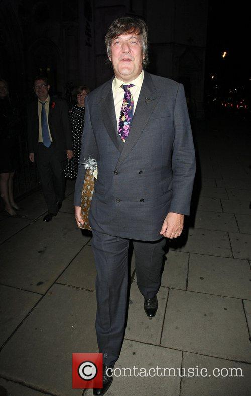 Stephen Fry,  at the Terrence Higgins Trust...