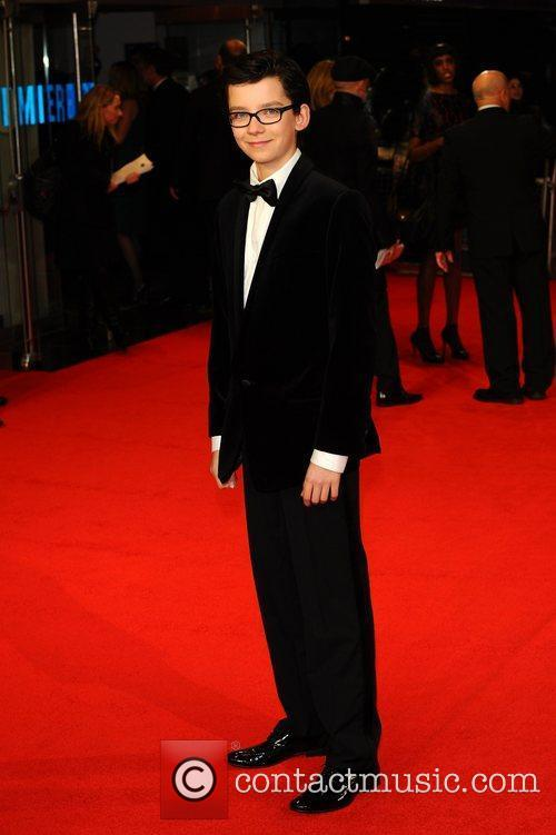 Asa Butterfield and Odeon Leicester Square
