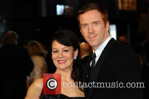 Helen Mccrory, Damian Lewis and Odeon Leicester Square 4