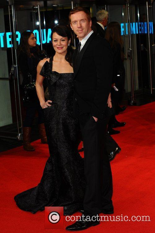 Helen Mccrory, Damian Lewis and Odeon Leicester Square 2