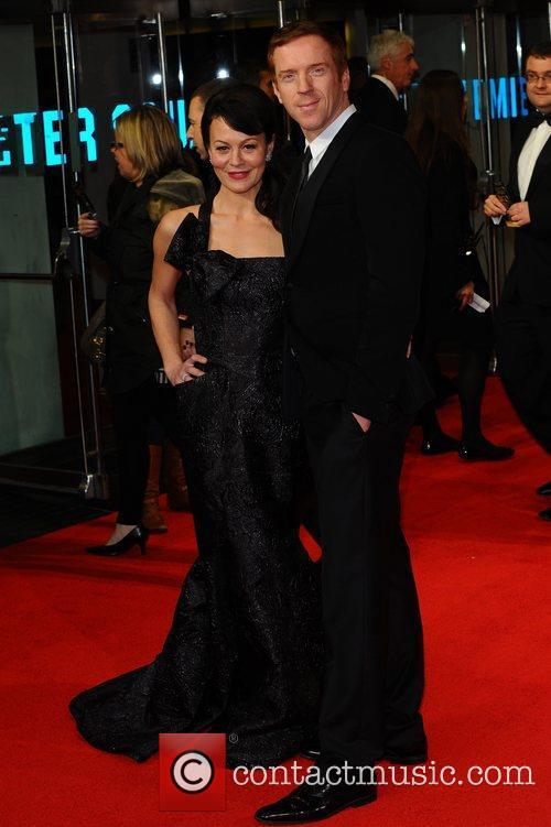 Helen Mccrory, Damian Lewis and Odeon Leicester Square 3
