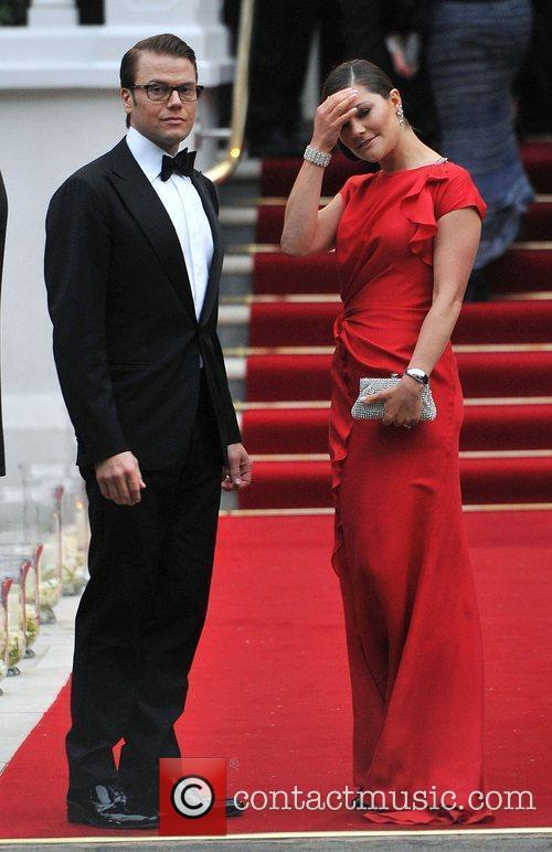 Royal Wedding - pre-wedding dinner held at the...