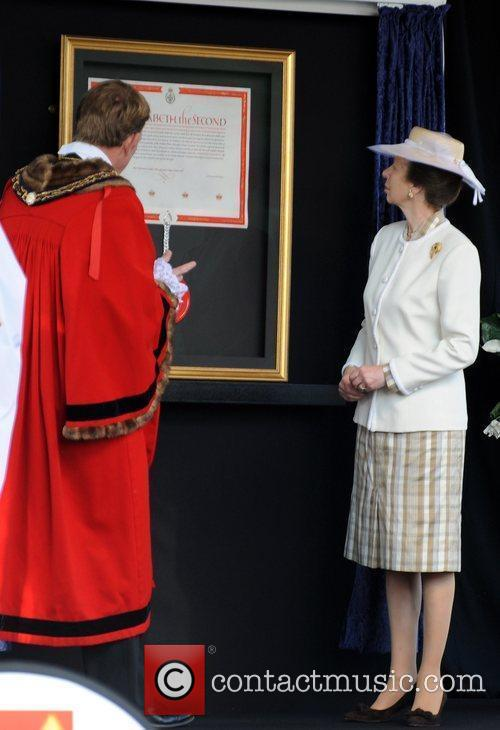 Princess Anne, The Princess Royal represents The Queen...