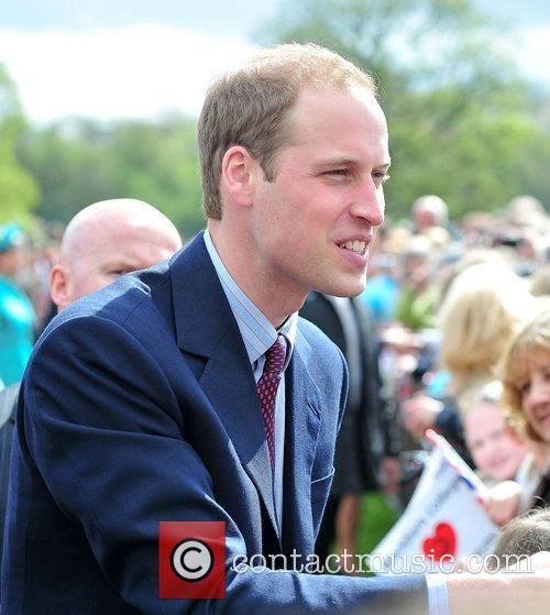 Prince William Kate Middleton and Prince William visit...
