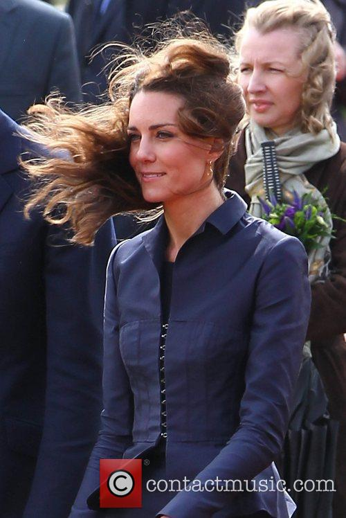 Kate Middleton and Prince William visit Witton Country...