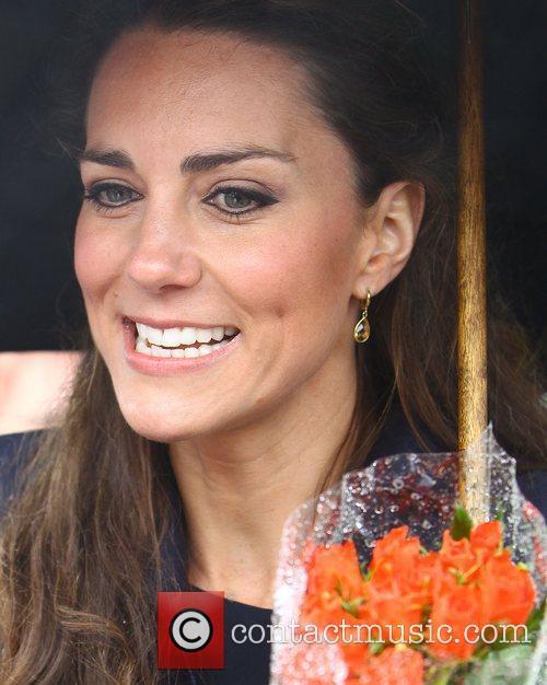 Kate Middleton leaves after opening the Darwen Aldridge...