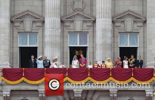 Prince William, Buckingham Palace, Pippa Middleton, Prince Charles, Prince Harry and Prince Philip 2