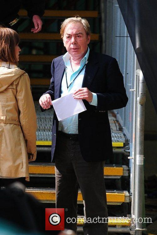 Celebrities seen filming during preparations for the Royal...