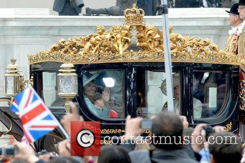 Carole Middleton Waving 2