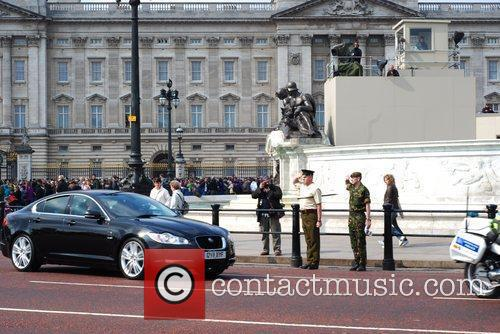 Preparations for the Royal Wedding of Prince William...