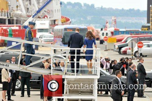 Prince William, Duke of Cambridge and Catherine, Duchess...