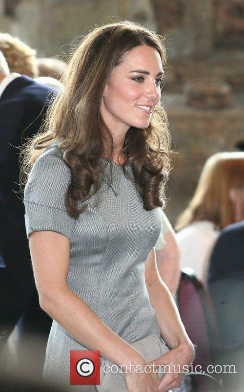 Catherine, Duchess of Cambridge touring the Canadian War...