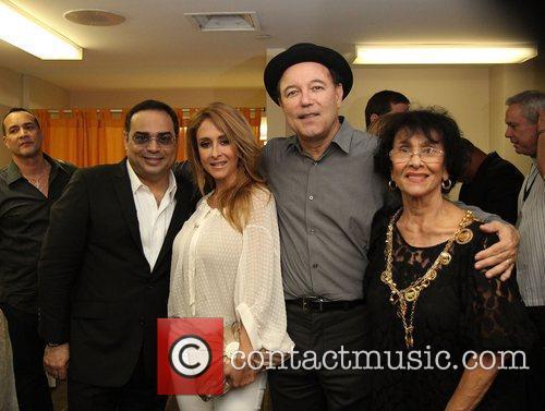 Gilberto Santa Rosa, Cristian Solis, Ruben Blades and...