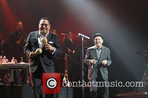 Gilberto Santa Rosa and Ruben Blades  performing...