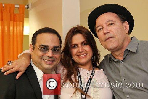 Gilberto Santa Rosa, Mariana Mendieta and Ruben Blades...
