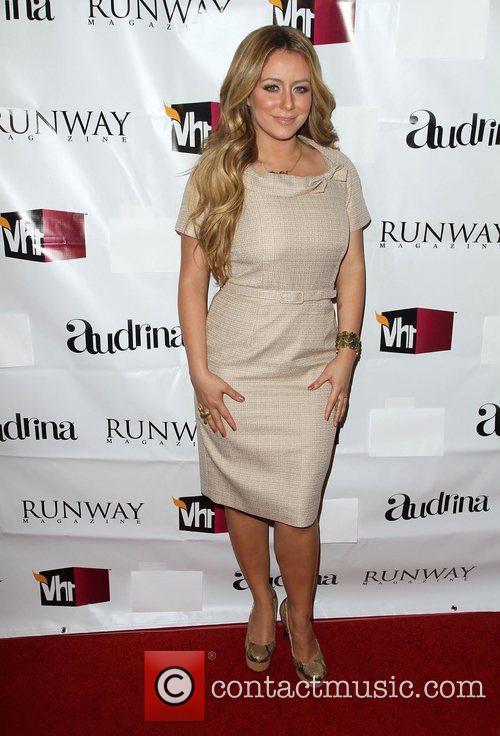 Aubrey O'Day  VH1 Joins Runway Magazine To...