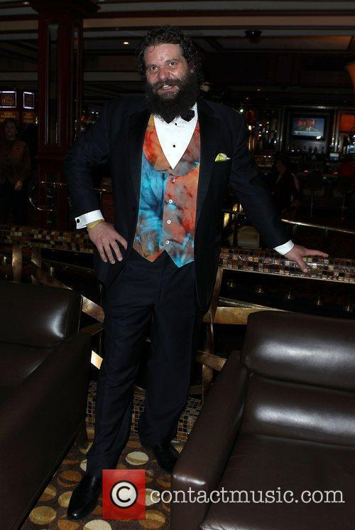 Rupert Boneham signs Autographs for guests and promotes...