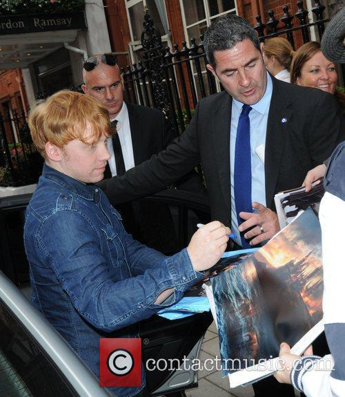 Harry Potter and Rupert Grint 5