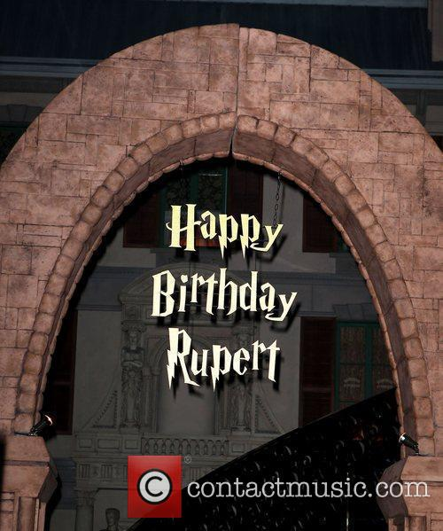 Rupert Grint celebrates his birthday at Chateau nightclub...