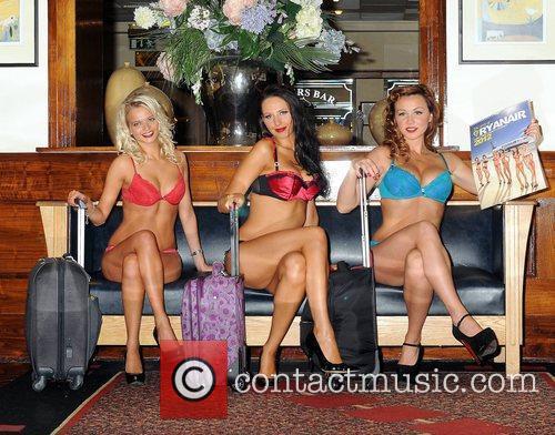 Alice Broadley, Georgina Mariou and Gillian Moore Ryanair...