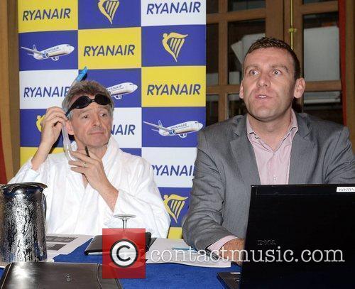 Michael O'Leary and Stephen McNamara (Head of Communication)...