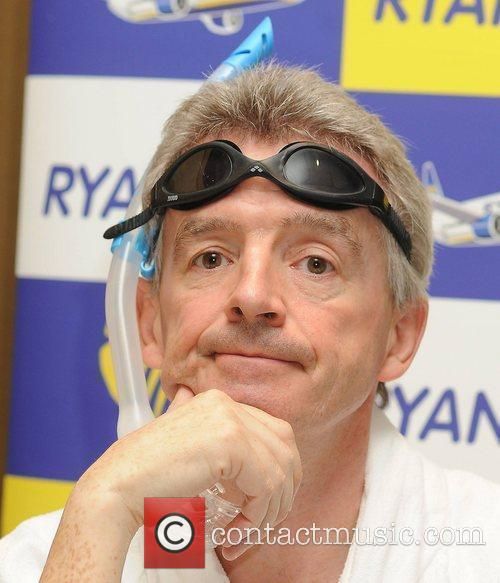 Michael O'Leary Ryanair boss Michael O'Leary and female...
