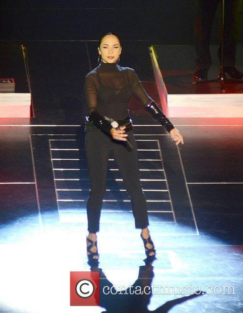 Sade performing at The O2 in Dublin