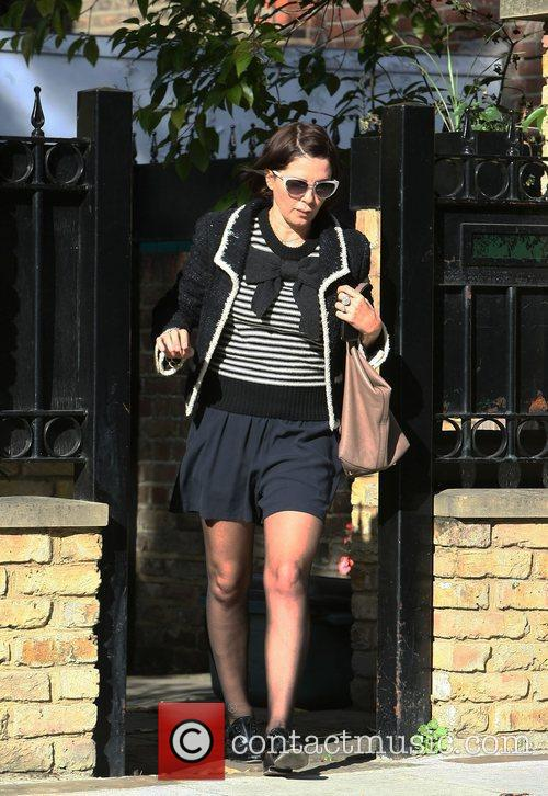 Sadie Frost seen leaving her house London, England