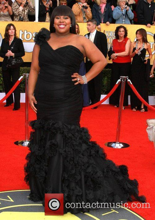 Amber Riley The 17th Annual Screen Actors Guild...