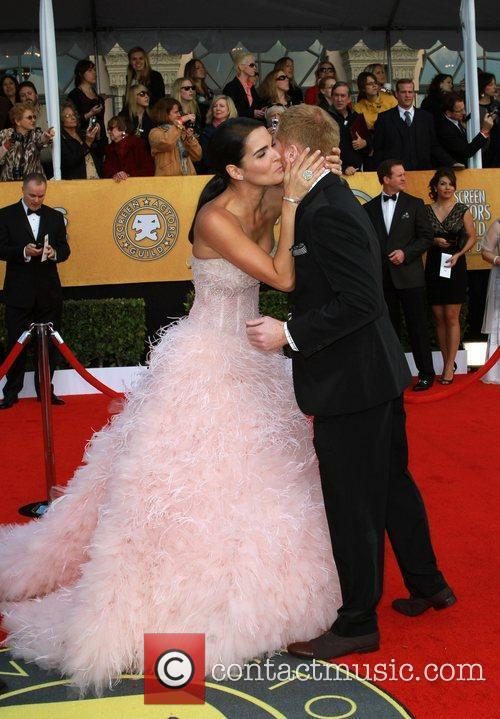 Angie Harmon and Jesse Tyler Ferguson The 17th...
