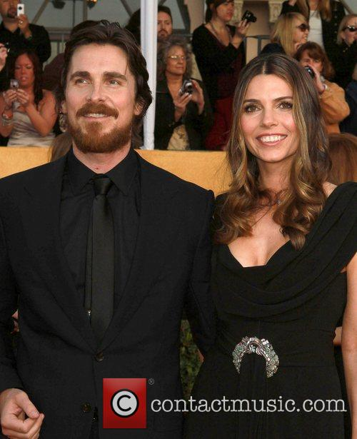 Christian Bale and wife Sibi Blazic The 17th...