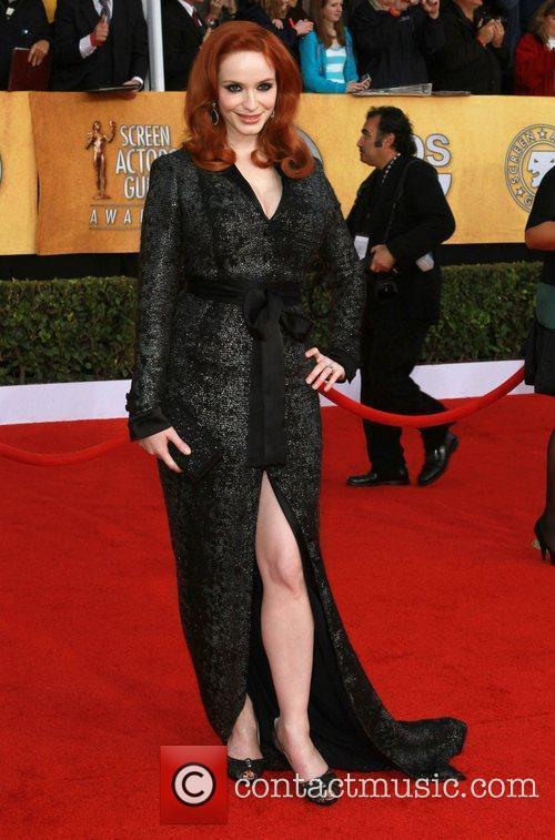 Christina Hendricks The 17th Annual Screen Actors Guild...