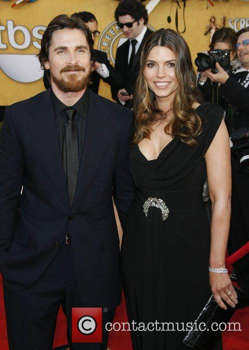 Christian Bale and his wife Sibi Bale...