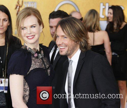 Nicole Kidman and her husband Keith Urban The...