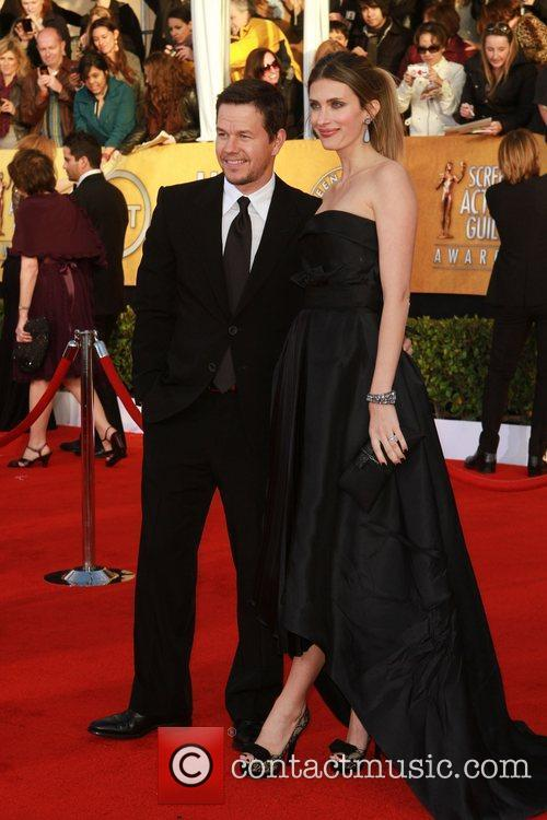 Mark Wahlberg and Wife The 17th Annual Screen...