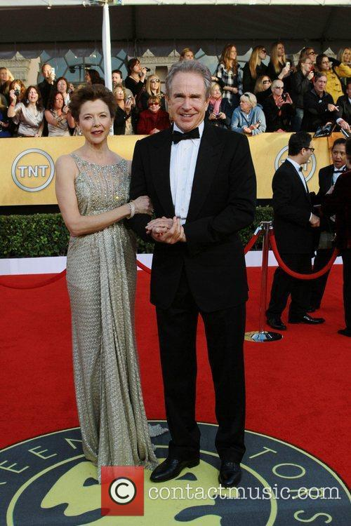 Warren Beatty and Annette Bening The 17th Annual...