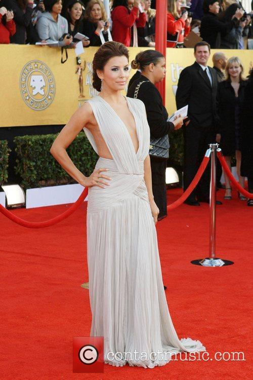 Eva Longoria The 17th Annual Screen Actors Guild...