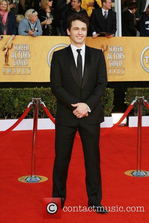 James Franco The 17th Annual Screen Actors Guild...