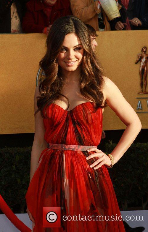 Mila Kunis The 17th Annual Screen Actors Guild...