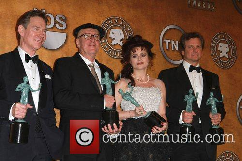 Anthony Andrews, Colin Firth, Geoffrey Rush and Helena Bonham Carter 7