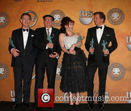 Anthony Andrews, Colin Firth, Geoffrey Rush and Helena Bonham Carter 6