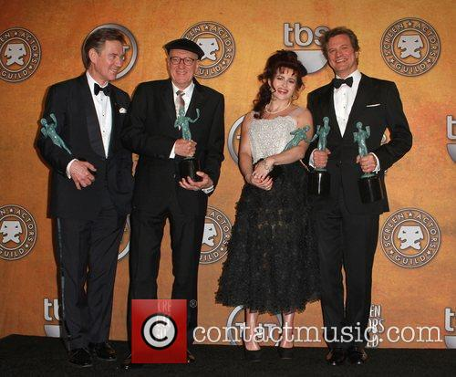 Anthony Andrews, Colin Firth, Geoffrey Rush and Helena Bonham Carter 2