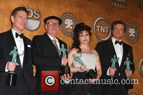 Anthony Andrews, Colin Firth, Geoffrey Rush and Helena Bonham Carter 4