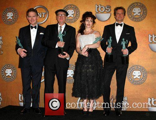 Anthony Andrews, Colin Firth, Geoffrey Rush and Helena Bonham Carter 3
