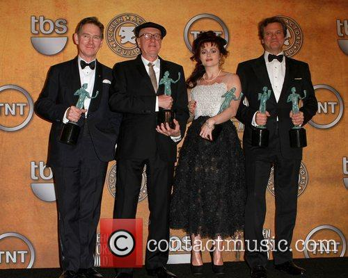 Anthony Andrews, Colin Firth, Geoffrey Rush and Helena Bonham Carter 8